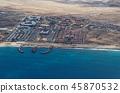 Resort area on the island Sal, Cape Verde 45870532