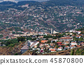 View on the buildings in Sao Martinho, Madeira 45870800