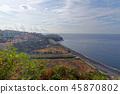 Praia Formosa beach in Funchal, Madeira, Portugal 45870802