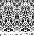 pattern baroque vector 45870980