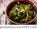 Bowl of sea kale 45871168