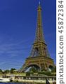파리 에펠 탑 45872384