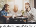 商业 商务 小组 45872617