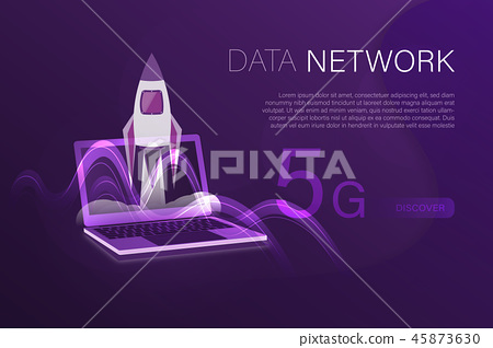 Business and finance - 5G network 45873630