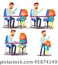 kid, doctor, vector 45874149