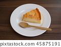 布丁 蛋糕 割 45875191
