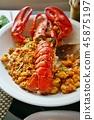龍蝦 炒飯 熟飯 45875197