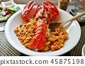 龍蝦 炒飯 熟飯 45875198