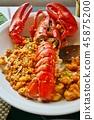 龍蝦 炒飯 食物 45875200