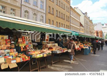 Czech Republic Prague's Havel Market (traditional market) 45876623