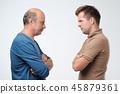 man, men, confrontation 45879361