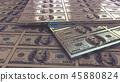 bill, dollar, banknotes 45880824