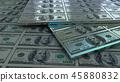 bill, dollar, banknotes 45880832