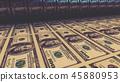 bill, dollar, banknotes 45880953