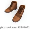 3d, boots, footwear 45881092