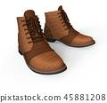 3d, boots, footwear 45881208