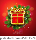christmas bulb xmas 45881574