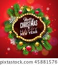 christmas bulb xmas 45881576