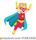 hero girl costume 45881606