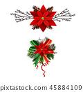 christmas, decoration, vector 45884109