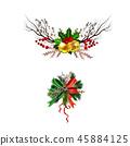 christmas, decoration, vector 45884125