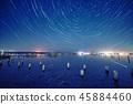 Lake at night 45884460
