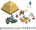 露营烧烤帐篷桌 45889140