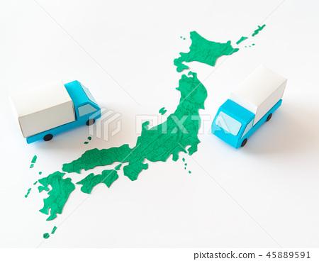 卡車日本地圖物流搬家搬家搬家搬家搬家搬家 45889591