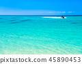 在沖繩的海名護 45890453