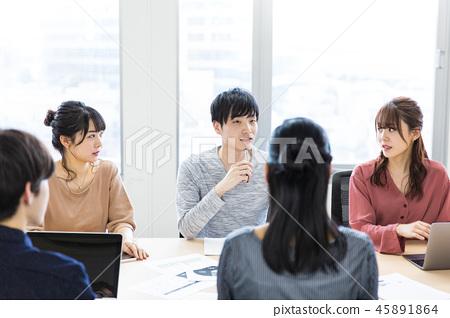 會議休閒 45891864