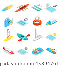 water sport icon 45894761