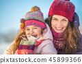 mother, daughter, girl 45899366