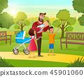 baby, child, dad 45901060