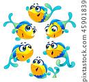 fish character vector 45901839