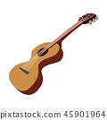 Guitar cartoon icon  45901964