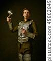 Portrait, man, lamp 45902945