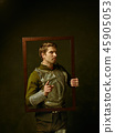 Portrait, man, frame 45905053