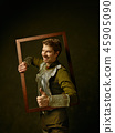 Portrait, man, frame 45905090