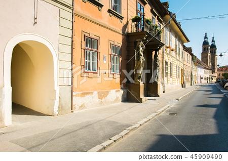 Places of interest on Mitropoliei street in Sibiu 45909490