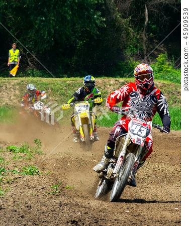 motocross extreme sport competition 45909539