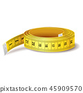 tape measure measurement 45909570