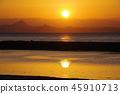 แสงอาทิตย์,แสง เบา,ผิวน้ำ 45910713