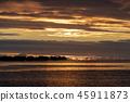 sunset, ocean, sky 45911873
