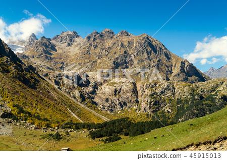Landscape view of Caucasus mountains 45915013