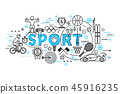 concept of sport, healthcare lifestyle 45916235