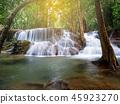 Huay Mae Kamin,Beautiful waterfall landscape 45923270