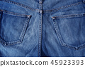 Jeans material 45923393
