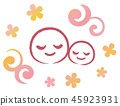 擁抱母親和孩子 45923931