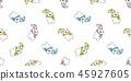 북극곰, 흰, 곰 45927605