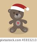 bear, teddy, christmas 45933213
